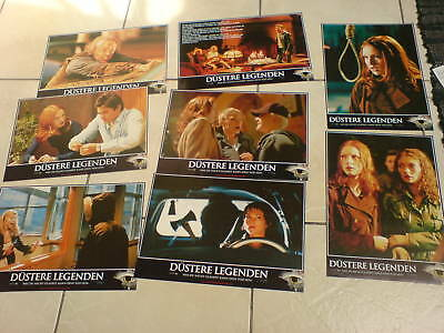 HORROR: URBAN LEGEND German Lobby Card Set  JARED LETO REBECCA GAYHEART