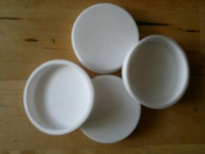 "4x 2"" Wide End Caps For Postal Tubes Packing Tubes A1 A2 A3 A4 Poster Tube Cap"