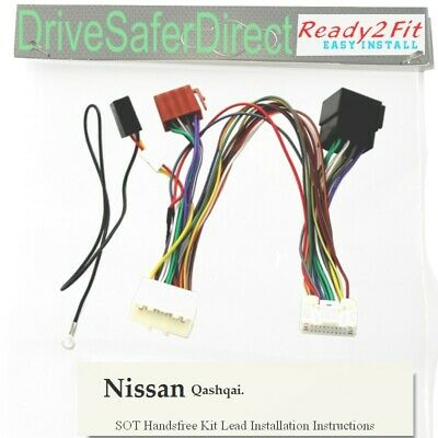 Superb Sot 5223 01 Iso Adaptor T Harness For Parrot Ck3100 Ck3000 Nissan Wiring 101 Orsalhahutechinfo