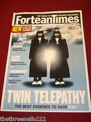 Fortean Times #171 - Twin Telepathy - June 2003