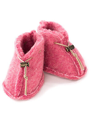 New Baby Toddler Girl, Boy Unisex 100% Merino Sheep Wool Slippers Booties, Shoes