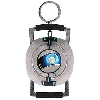 Portal 2 Wheatley Plush Key Chain - Crowded Coop - Valve