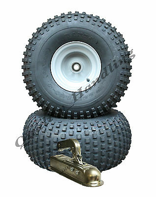 ATV trailer kit - Quad trailer - wheels with bearings + hitch,  310kg