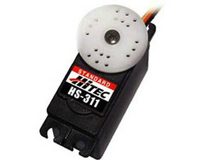 Hitec HS 311 Standard Servo & Accessories works with any radio control.