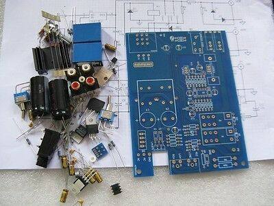 1 set Amplifier Speaker Test Kits 2.0mm FR4 board with all the componenets