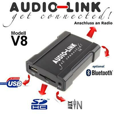 USB SD AUX Mazda MX-5 NB NC MP3 Radio Adapter Interface Wechsler Musik