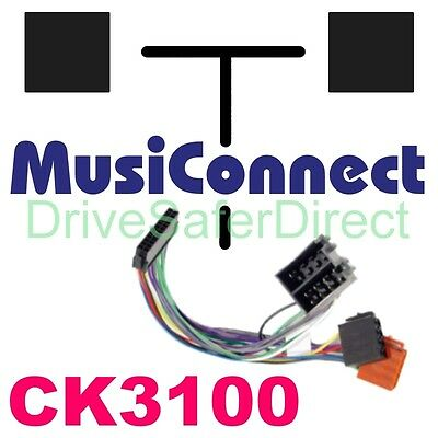 MC9910 Kit-Adaptor for MusiConnect lead to ISO kit