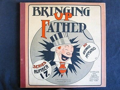 Bringing Up Father #'s 17 & 18 CUPPLES & LEON 1930 (2 Issues) RARE Platinum Age!