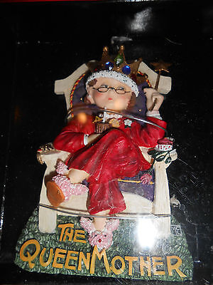 Mary Engelbreit Christmas Collection Ornament: The Queen Mother