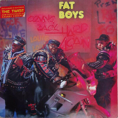 The Fat Boys - Coming Back Hard Again - audio cassette tape