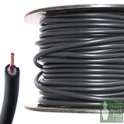 Spark Plug Ignition HT Cable Wire Core PVC Black 7mm
