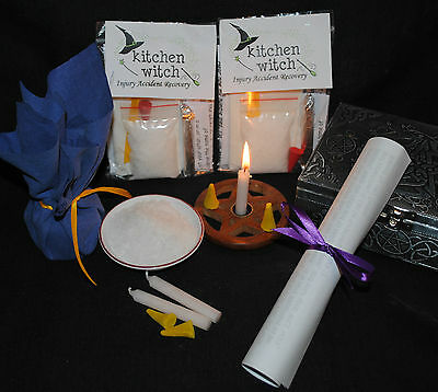 Speedy Recovery & Healing Spell for INJURY / ACCIDENT / ILLNESS / HEALTH Kit