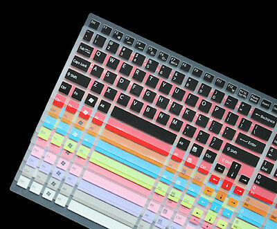 US Keyboard Skin Cover film for SONY VAIO CB EB EE EH EL SE SVE15 S15 F219 F24