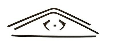 US-Made 1968- 70 Dodge Charger Inside Rear Window Trim 6 piece Set New TrimParts