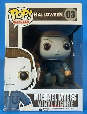 Funko Pop! Horror Movies: Halloween - Michael Myers Vinyl Figure #03 Mint in Box