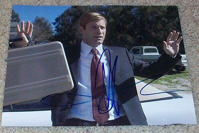 AARON ECKHART SIGNED THANK YOU FOR SMOKING 8x10 PHOTO A w/PROOF AUTOGRAPH