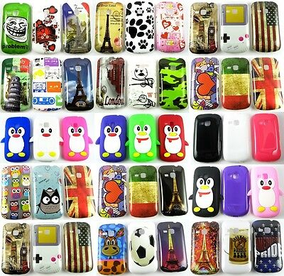 COVER CUSTODIA GUSCIO PER TELEFONO SAMSUNG GALAXY MINI 2 S6500 London Style