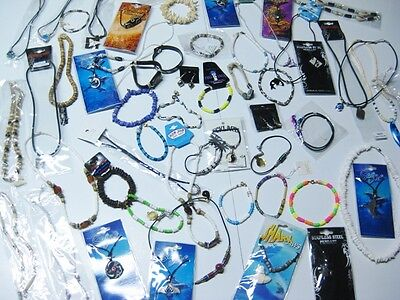 New 50 Pcs Below Wholesale Beach Surfer Tribal Cool Unisex Shell Jewelry Lot
