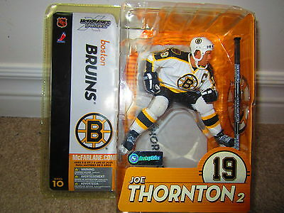 JOE THORNTON -action Figure--Mcfarlane Toys-NHL/NHLPA authorized merchandise
