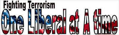 Fighting Terrorism 1 Liberal at a Time - Last Anti Obama Right Wing Stickers 016
