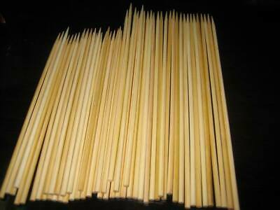 1000 X 30 cm / 12in Food Grade Wooden Bamboo BBQ Skewers