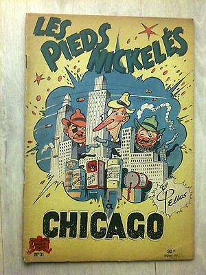 "Eo Pieds Nickeles N°31 ""a Chicago"" - Pellos - Ed° Spe 1957"