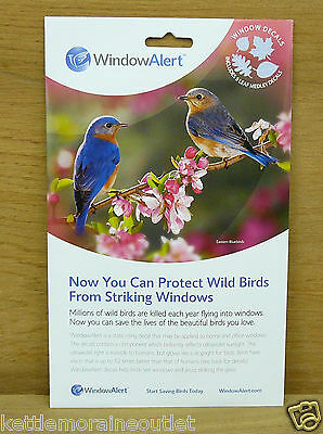 Window Alert 5 Leaf Medley Decals Save Protect Wild Birds Prevent Window Strikes