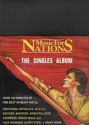 MUSIC FOR NATIONS - the singles album LP