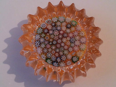 SIGNED PETER McDOUGALL MILLEFIORI PAPERWEIGHT - PURE QUALITY - PMcD LTD