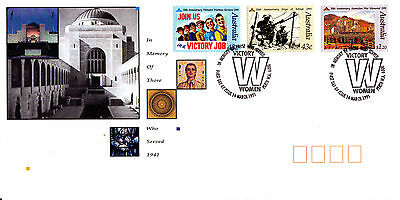 1991 In Memory Of Those Who Served  FDC - Perth WA 6000  Pictorial PMK