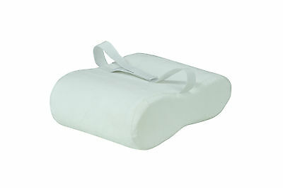 High Quality White Velour Memory Foam Leg Support & Comfort Bed Pillow Cushion