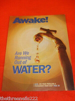 Awake! - Are We Running Out Of Water - Jan 2009
