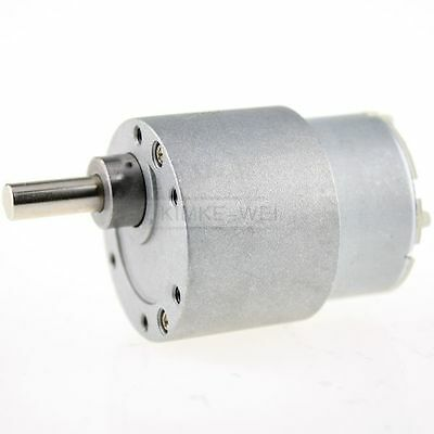 12V DC 3.5 RPM High Torque Gear Box Electric Motor New