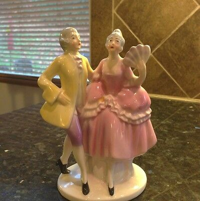 Erphila Germany Woman And Man Dancer US Zone Vintage