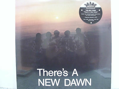 NEW DAWN There´s a New Dawn 1970 USA  PSYCH re LP SEALED