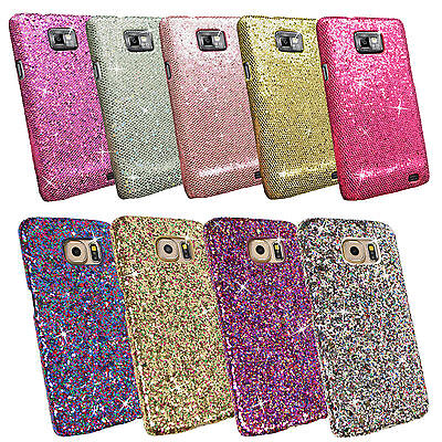 Bling Glitter Sparkling Sequin Textured Cover Case For Various Mobile Phone