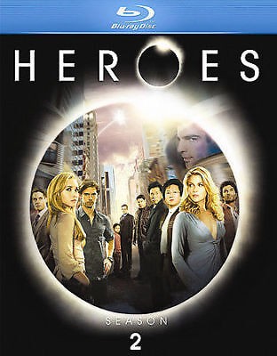 Heroes ~ The Complete Season 2 Two Second Season Brand New Blu-ray Disc