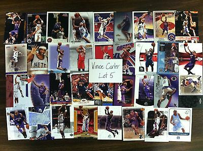 Vince Carter 35 card lot all different (lot 5)
