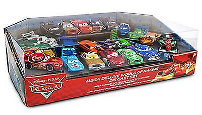 Disney Cars World of Racing Die Cast Set 22 Pieces DOC TEX WINGO SNOT ROD BOOST
