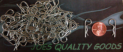 100 Rc Body Clips Car Truck Buggy  Body Pins 1/10 Scale