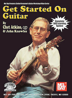 Get Started on Guitar Bk&DVD Chet Atkins & John Knowles