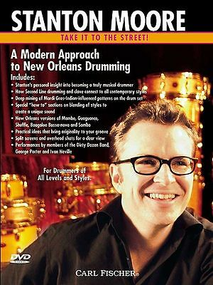 Stanton Moore A Modern Approach to New Orleans Drumming DVD