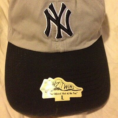 578d7d7854ad9 New York Yankees Baseball Cap By  47 Twins. (Sm