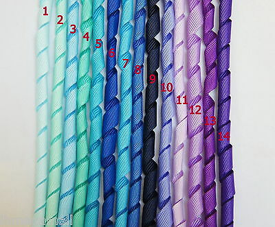 5 Pieces ~~10mm KORKER Grosgrain Ribbon 14 Colours U PICK -- BLUE/ PURPLE