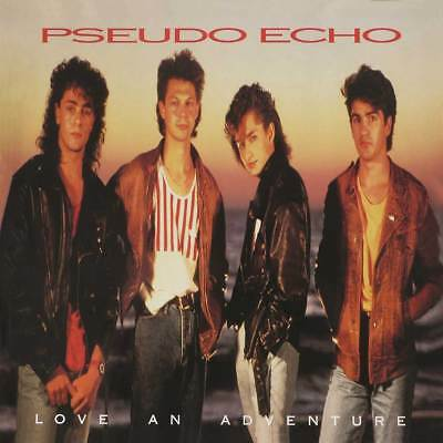 Pseudo Echo - Love an Adventure - audio cassette tape