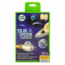 Leap Frog Tag Reading System SOLAR SYSTEM ADVENTURE PACK 40+ activities NEW