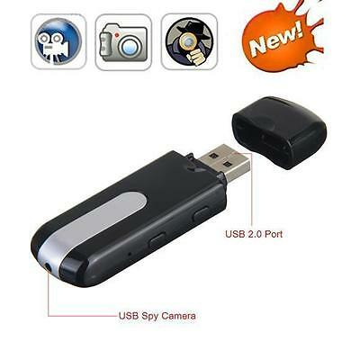 NEW Mini Pinhole Camcorder Usb HD U U8 Cam Surveillance DV DVR Disk SPY