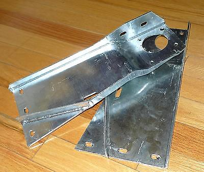 Bulkhead Brackets Galvanized 1954-58 S1 Land Rover Series One 86 88 107 SWB LWB
