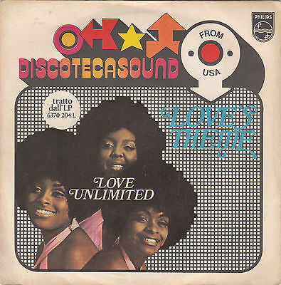 THE LOVE UNLIMITED - love's theme / it may be winter outside 45""