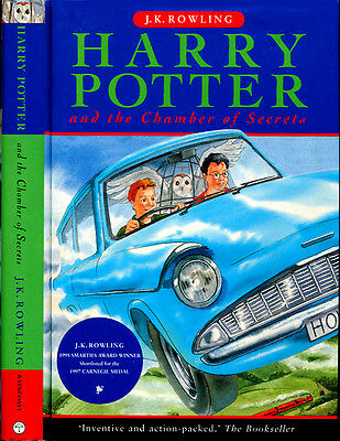 Harry Potter and the Chamber of Secrets J,K. Rowling HC 1st/1st Candian Edition